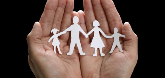 ما معنى الأسرة