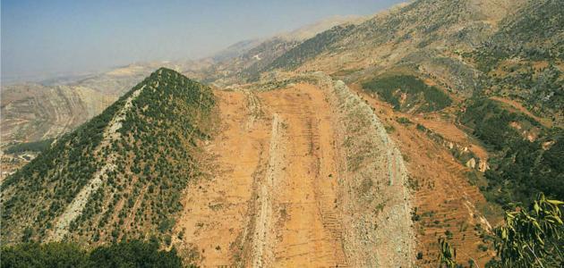 سلسلة جبال لبنان الغربية