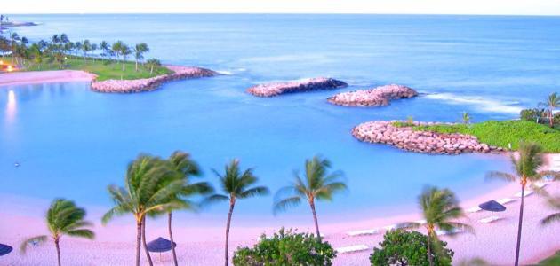 موقع جزر هاواي