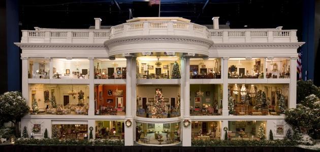 عدد غرف البيت الأبيض الأمريكي