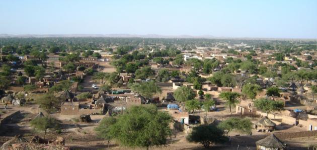 مدينة الجنينة غرب دارفور