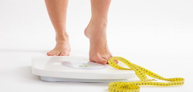 ثبات الوزن مع الرجيم