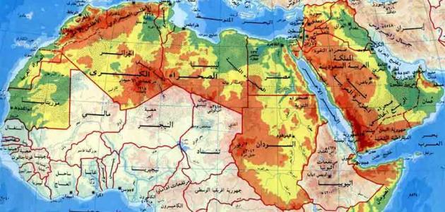 مقال عن أهمية موقع الوطن العربي
