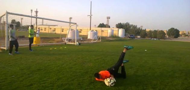 تمارين حراس مرمى في كرة القدم