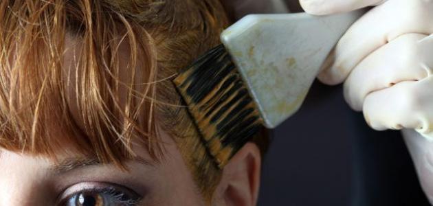 وصفة لإزالة الصبغة من الشعر