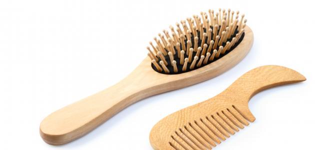 كيف أنظف مشط الشعر