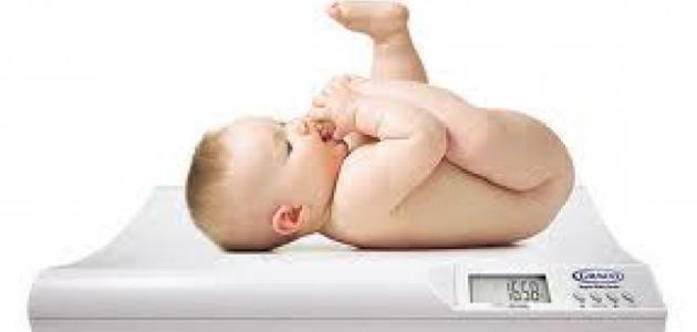 الزيادة الطبيعية لوزن الرضيع