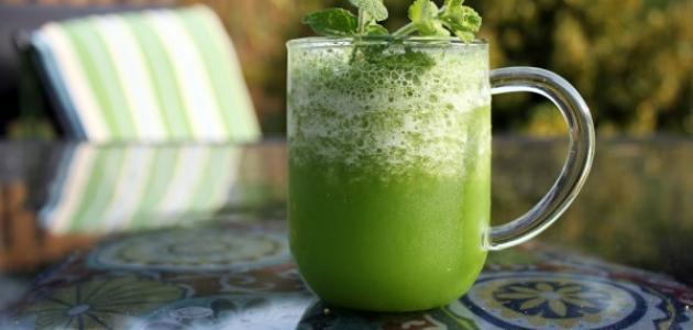كيفية عمل عصير ليمون بالنعناع