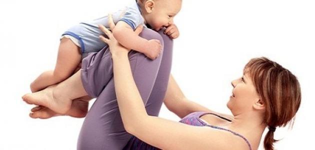 نقص الوزن بعد الولادة