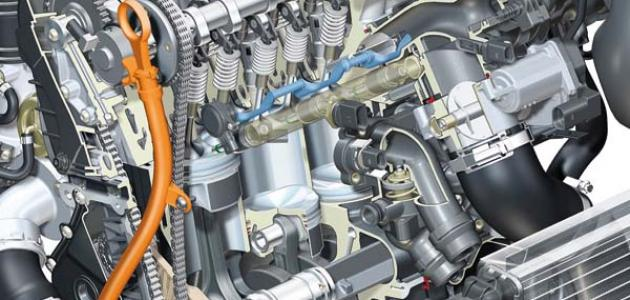 مبدأ عمل محرك السيارة موضوع