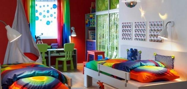 كيف أرتب غرفة الأطفال