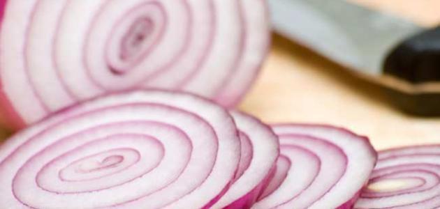 طريقة تمليح البصل
