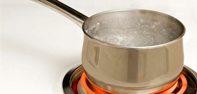 كم درجة غليان الماء