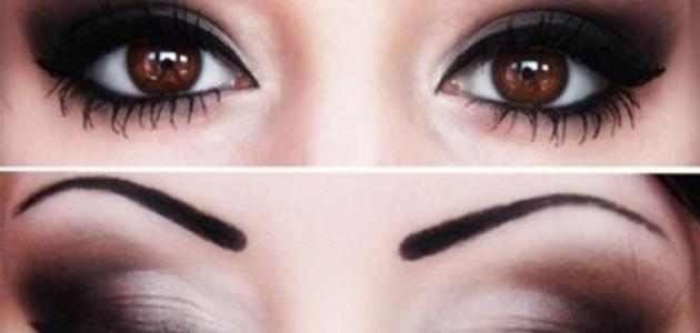 كيف أجعل عيوني واسعة