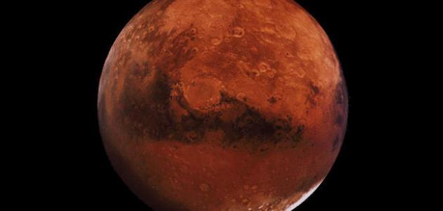 بحث حول كوكب المريخ