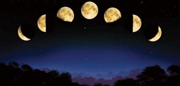 خصائص القمر