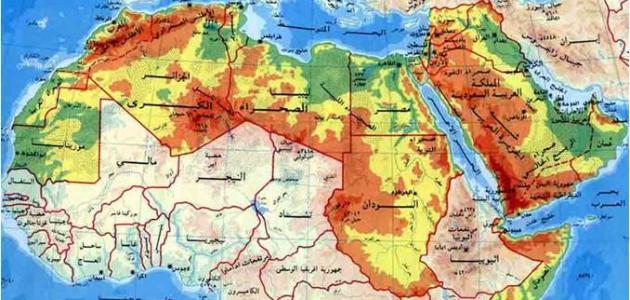 خصائص الوطن العربي