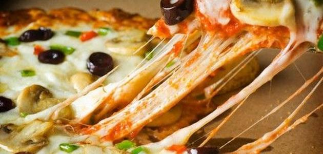 وصفات عمل البيتزا