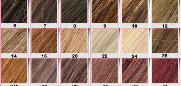كيفية دمج ألوان صبغة الشعر
