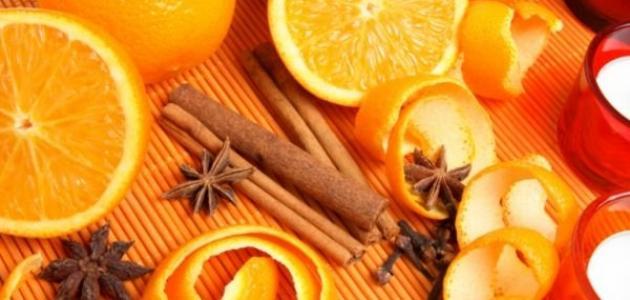 ما فائدة قشر البرتقال