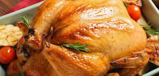 طريقة عمل حشوة الدجاج
