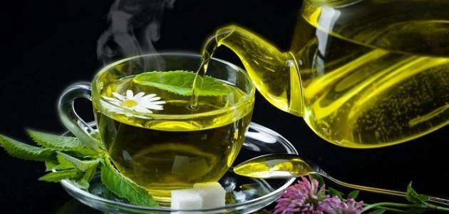 ما فوائد شاي الأخضر