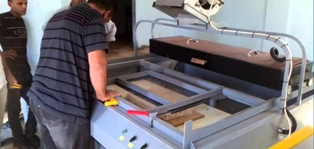 صناعة الرخام من الإسمنت والرمل