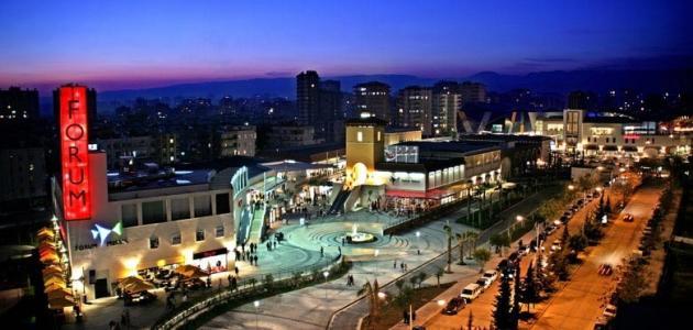 مدينة مرسين في تركيا