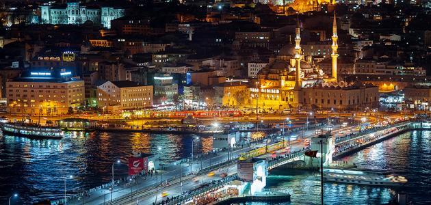 مدن في تركيا