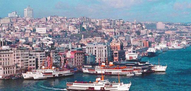 مدينة إسطنبول في تركيا