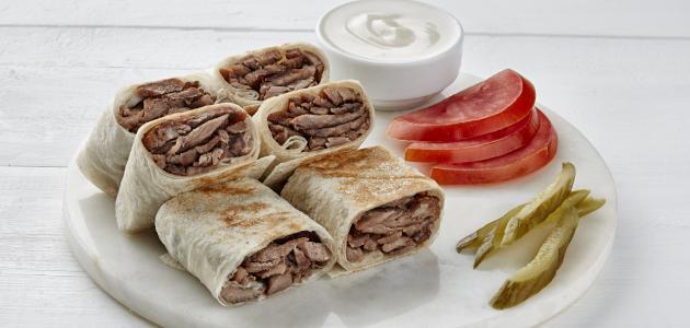 طريقة عمل شاورما اللحم المصرية