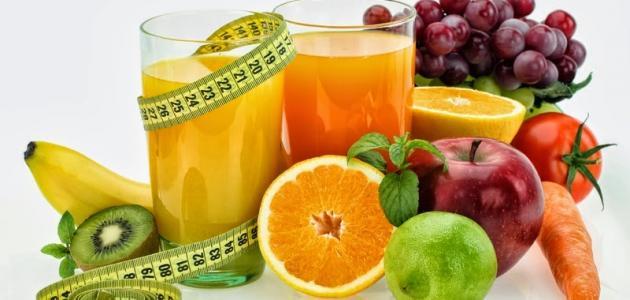 موضوع عن صحتي في غذائي