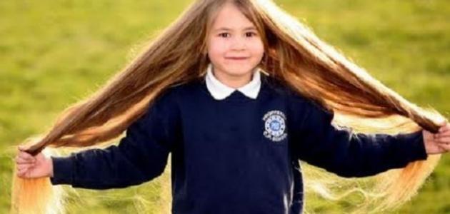 وصفة لتطويل شعر الأطفال