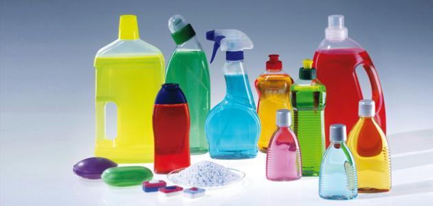 صناعة المنظفات الكيميائية