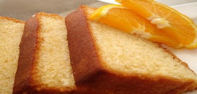 طريقة عمل كيكة بالبرتقال