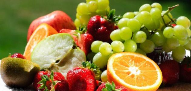 Information about the benefits of fruits