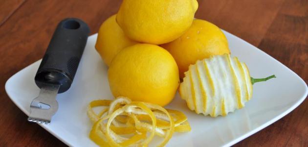 طريقة عمل عصير الليمون بقشره