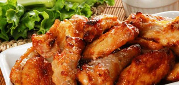 طريقة تحضير أجنحة الدجاج