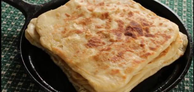 طريقة عمل خبز باباروتي أو روتي بوي