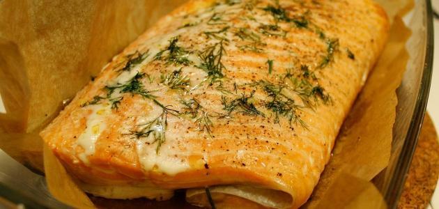 أفضل طريقة لعمل سمك السلمون