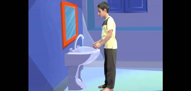 خطوات الصلاة للأطفال موضوع