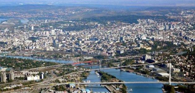 مدن صربيا