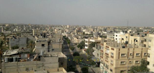 مدينة رفح المصرية