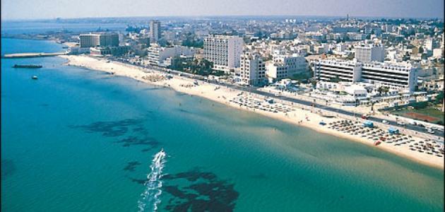 مدينة تونسية ساحلية