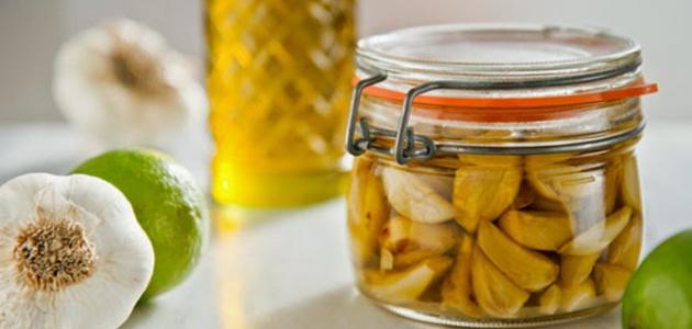 فوائد الثوم مع زيت الزيتون للشعر