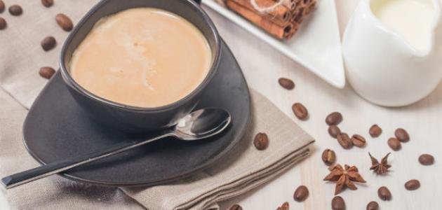 طريقة القهوة البيضاء