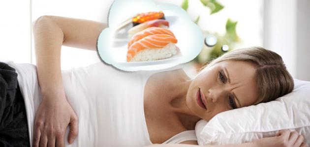 متى تظهر أعراض التسمم الغذائي