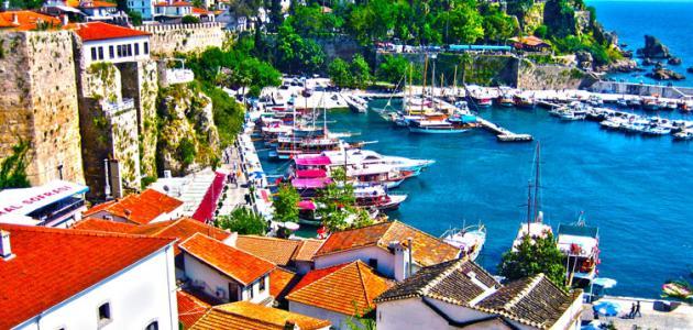 جزيرة أنطاليا في تركيا