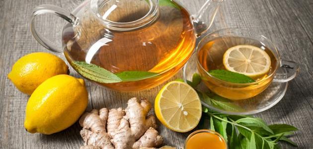 فوائد الزنجبيل مع العسل والليمون