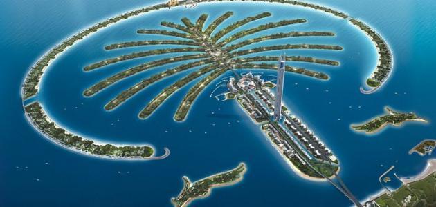 جزر في الإمارات
